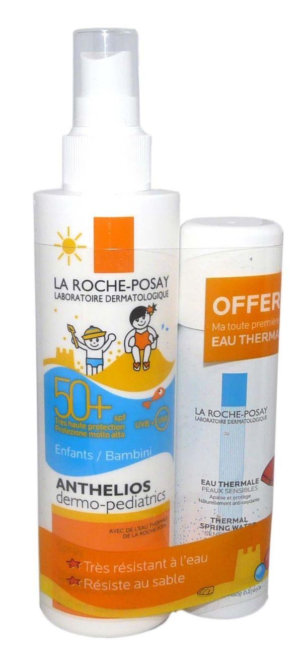 LA ROCHE POSAY ANTHELIOS DERMO-PEDIATRICS IP50+ SPRAY 200ML + EAU THERMAL 50ML