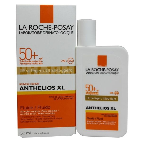 LA ROCHE POSAY ANTHELIOS XL IP50 FLUIDO ULTRA LIGERO CON COLOR 50ML