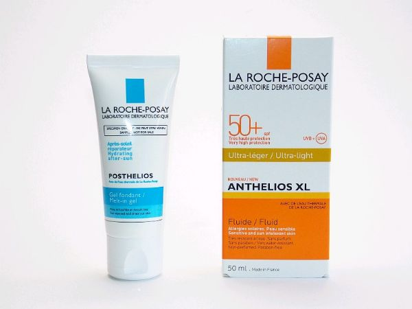 LA ROCHE POSAY ANTHELIOS XL PACK FLUIDO ULTRA LIGERO 50ML POSTHELIOS 40ML