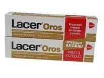LACER OROS DENTIFRICO 125ML X2 UNIDADES