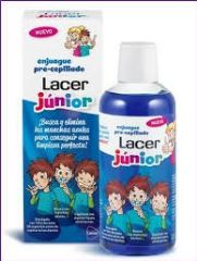 LACER JUNIOR ENJUAGUE PRE-CEPILLADO 500ML