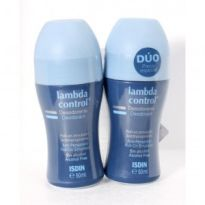 LAMBDA DESODORANTE ROLL-ON SIN ALCOHOL x2 UNIDADES