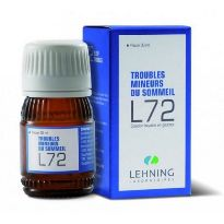 lehnning complexe l72 30ml tratamiento homeopatico estados estres, insomnio, nerviosismo, ansiedad