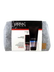 LIERAC ANTIARRUGAS HOMBRE 50 ML Y DE REGALO GEL 200 ML Y NECESER