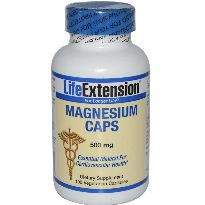 LIFE EXTENSION MAGNESIUM 500MG 100 CAPSULAS