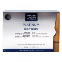 MARTIFDERM AMPOLLAS NIGHT RENEW 30 UNIDADES