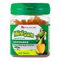 MINIGUM DEFENSAS 50 GOMINOLAS MANZANA