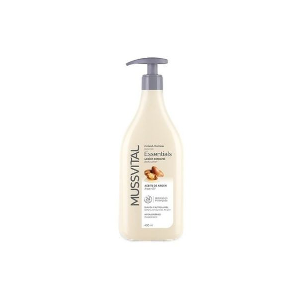 MUSSVITAL BODY MILK ACEITE DE ARGAN 400ML