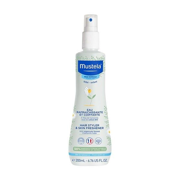 MUSTELA AGUA DE COLONIA SIN ALCOHOL SPRAY 200ML
