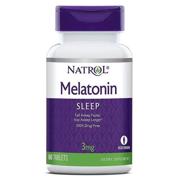 NATROL MELATONIN 3MG 60 TABLETS