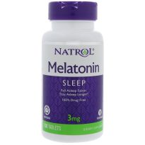 NATROL MELATONIN TIME RELEASE 3MG 100 TABLETS