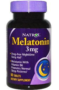Natrol Melatonin 3mg 60 comprimidos