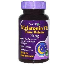 Natrol melatonina TR 3mg 100 comrpimidos