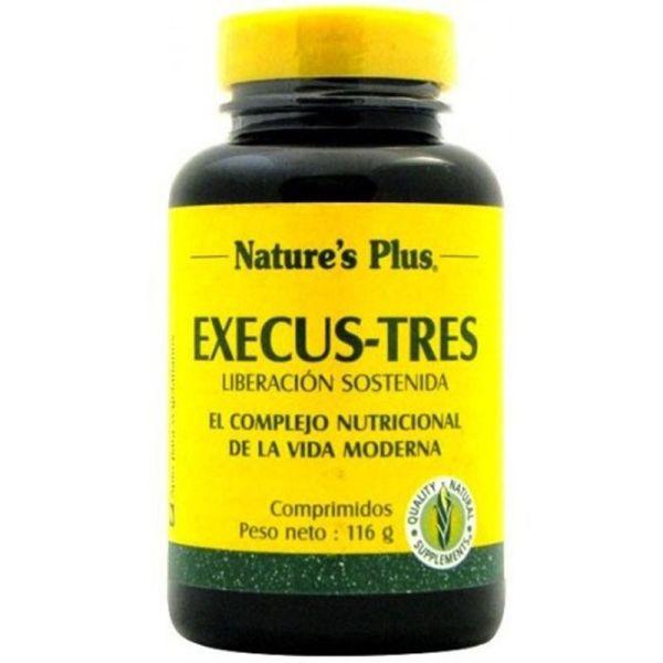 NATURES PLUS EXECU STRES 60 COMPRIMIDOS