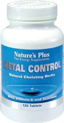 NATURES PLUS METAL CONTROL 120 COMPRIMIDOS