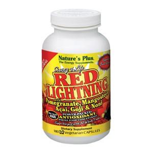 NATURES PLUS RED LIGHTNING 180 CAPSULAS