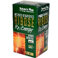 NATURES PLUS RIBOSE RX ENERGY 60 COMPRIMIDOS