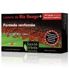 NATURES PLUS SANTE VERTE RED YEAST RICE 60 COMPRIMIDOS