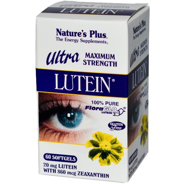 NATURES PLUS ULTRA LUTEIN 20MG