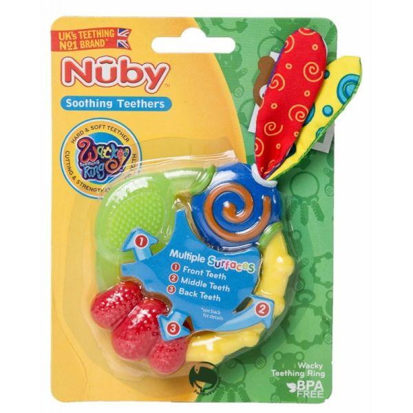 NUBY MORDEDOR REFRIGERABLE CHIFLADO +3M