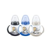 NUK BIB FIRST CHOICE SNOOPY SILICONA ENTRENA 150ML ASAS