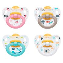 NUK CHUPETE HAPPY KIDS LATEX T1 DIA 2 UNIDADES
