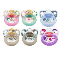 NUK CHUPETE HAPPY KIDS LATEX T3 1 UNIDAD