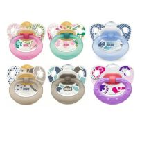 NUK CHUPETE HAPPY KIDS LATEX T3 2 UNIDADES