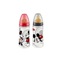 NUK BIBERON FIRST CHOICE MICKEY LATEX T2 L 300ML
