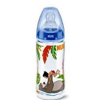 NUK BIBERON FIRST CHOICE SILICONA JUNGLE BOOK T2 L 300ML