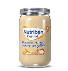 NUTRIBEN GRANDOTE MANZANA NARANJA PLATANO CON GALLETA 235GR