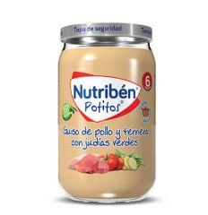 NUTRIBEN GRANDOTE POLLO TERNERA CON JUDIAS VERDES 235GR