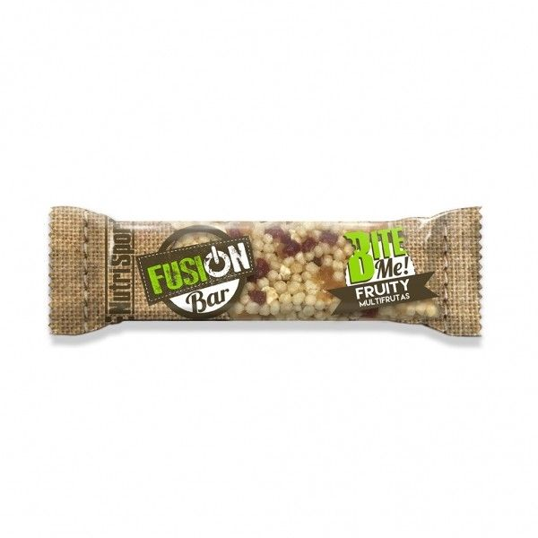 NUTRISPORT BARRITA FUSION BAR FRUITY 30G