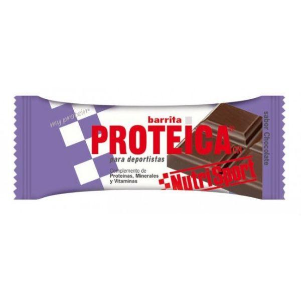 NUTRISPORT BARRITA PROTEICA CHOCOLATE 46G