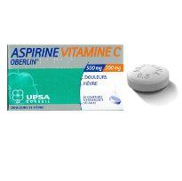 OBERLIN ASPIRINA VITAMINA C 30 COMPRIMIDOS EFERVESCENTES