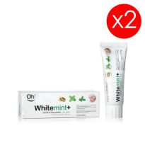 Oh White WhiteMint+ Dentífrico blanqueador 2x75ml