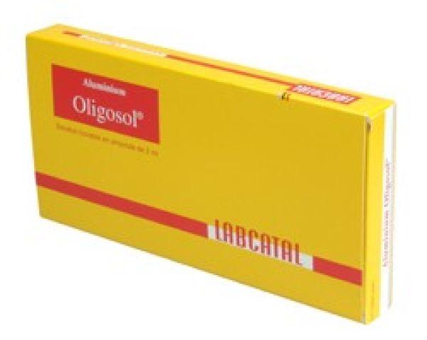 OLIGOSOL YODO 100MG 28 AMPOLLAS