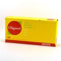 OLIGOSOL ZINC-NIQUEL-COBALTO 28 AMPOLLAS