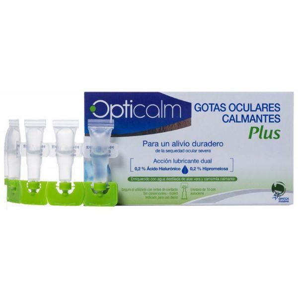 OPTICALM GOTAS OCULARES PLUS 10 MONODOSIS