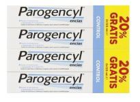 PAROGENCYL DENTIFRICO PREVENTION CONTROL 125ML X4 UNIDADES