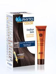 PHYTO COLOR 4M CASTANO CLARO MARRON