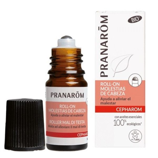 PRANAROM MOLESTIAS DE CABEZA EN ROLL-ON 5ML