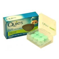 QUIES TAPONES OIDOS SILICONA 3 PARES