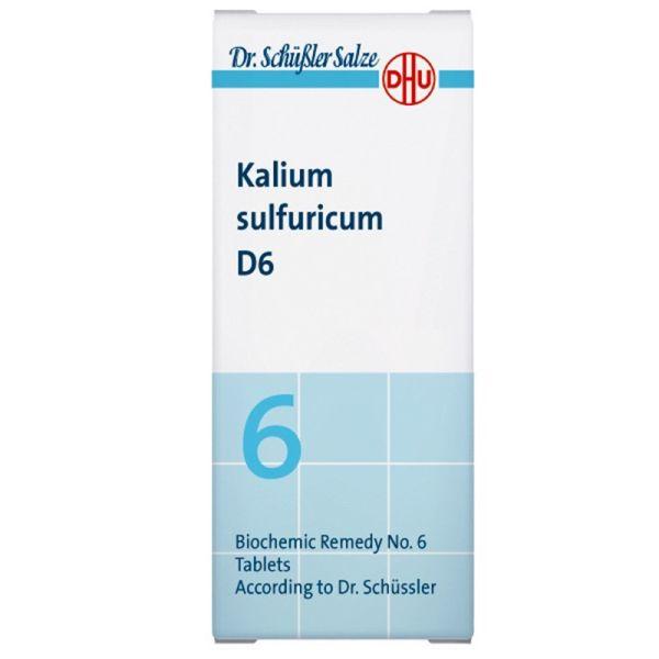 SALES DE SCHUSSLER 6 KALIUM SULFURICUM 80 COMPRIMIDOS