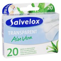 SALVELOX TRANSPARENT ALOE VERA 20 APOSITOS