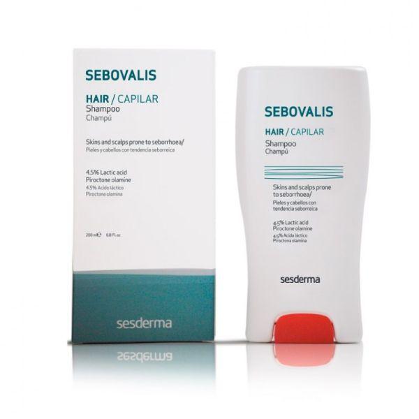 SESDERMA SEBOVALIS CHAMPU 200ML