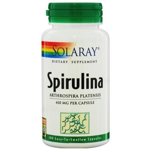 Soalray Spirulina 410mg 100 cápsulas