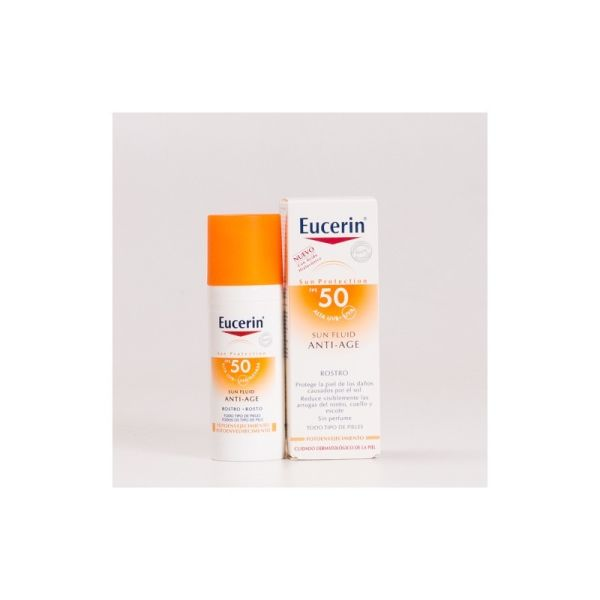 SOLAR SUN FLUID ANTI-AGE SFP50 50ML