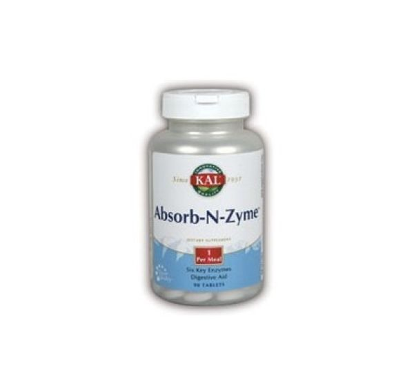 Solaray Absorb-N Zyme 90 cápsulas