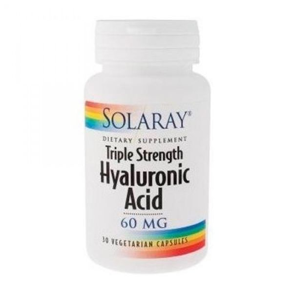 SOLARAY ACIDO HIALURONICO 60MG 30 CAPSULAS